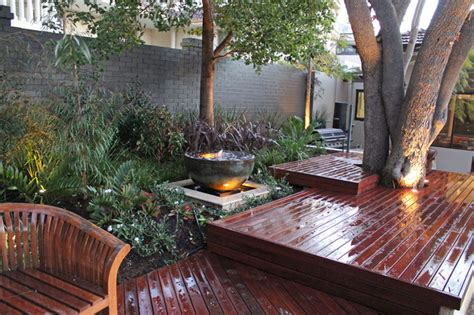 tropical patio the big garden rev stage 1 tropical patio perth by ascher smith