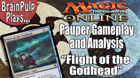 "Mtg  Pauper Deck Gameplay  Analysis ""flight Of The"