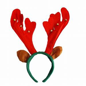 Christmas Headband Decoration Antlers Headband Hair ...