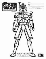 Clone Wars Coloring Trooper Drawing Rex Captain Arc Troopers Colouring Sheets Lego Sheet Draw Printable Commander Ausmalbilder Colour Drawings Stars sketch template