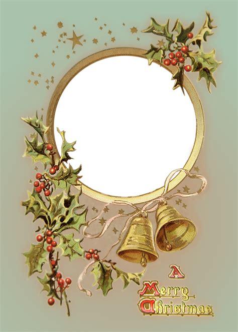 christmas frameborder photoshop psd images vintage