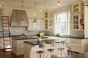 french country kitchens ideas in blue and white colors With kitchen cabinet trends 2018 combined with meuble rangement papiers