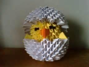 3D Origami Monkey