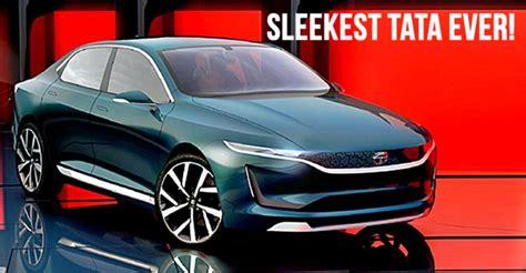 Tata Evision Sedan Concept Unveiled At The Geneva Motor Show