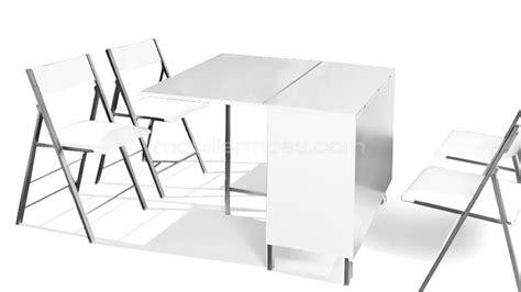 table avec chaise intégrée table console avec chaise integree