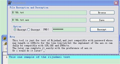 how to use rijndael to encrypt any file easily codeproject
