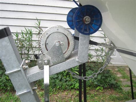 Boat Trailer Winch Adjustment by Winch Winch Stand Adjustment The Hull Boating