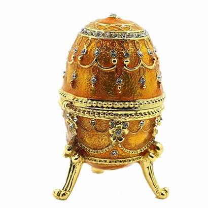 Faberge Egg Display Collectible Bejeweled Enameled Trinket