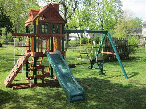Swingset Or Playset Installation Nj