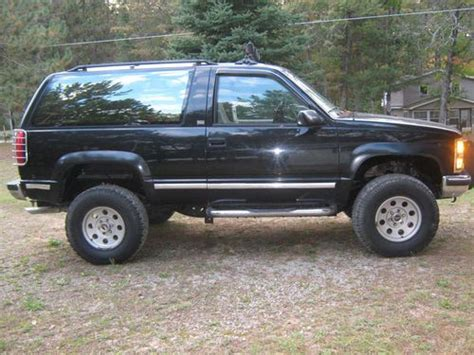 how make cars 1992 chevrolet s10 parental controls purchase used 92 black full size blazer no rust lifted 4x4 in south branch michigan united states