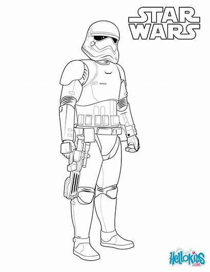 Stormtrooper Wars Coloring Trooper Storm Star Pages