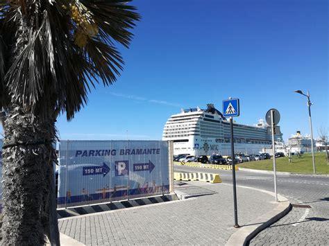 parcheggio auto porto civitavecchia parcheggio bramante al porto di civitavecchia clienti msc