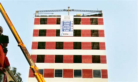 floor building constructed   hours  india mohali