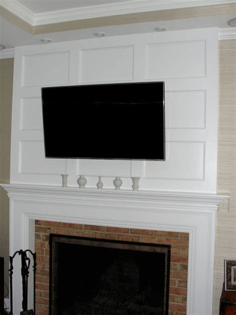 fireplace millwork contemporary family room dc metro