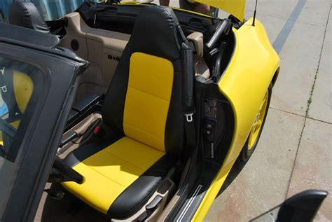Bmw Z3 1996-2002 Leather-like Custom Seat Cover