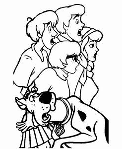 Free scooby doo christmas coloring pages