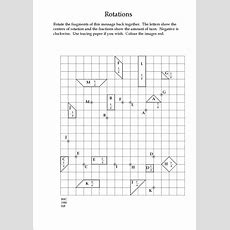 An Exercise In Transformation Geometry  Maths Worksheets  Pinterest Exercise