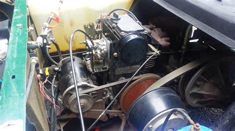 ezgo gas golf cart cc oil change   quarts