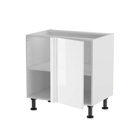 meuble cuisine bas angle meuble cuisine angle bas droit 80cm 1 porte 40 achat
