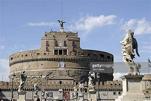 Castel Santangelo Rome Italy Stock Photo | Getty Images