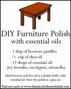 Homemade furniture polish with essential oils the for Homemade furniture polish with essential oils