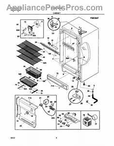 Frigidaire 297164400 Cover-hinge