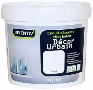 enduit inventiv achat vente de enduit inventiv With enduit decoratif effet beton