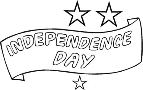 independence day coloring pictures coloring page