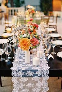 wedding table runners table setting ideas for a very With wedding decorations table runners