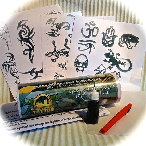 tatouage temporaire jagua  stamping nail art avec konad