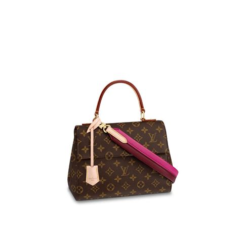 cluny bb monogram canvas handbags louis vuitton