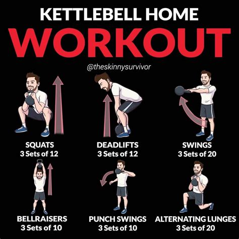 kettlebell workout daily workouts exercise routines chart why swings
