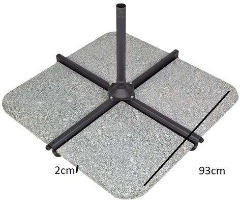 pied de parasol granit 50 kgs pour parasol d 233 port 233