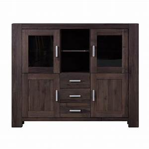 Highboard Eiche Massiv : highboard braxton in eiche massiv verwittert antik ~ Indierocktalk.com Haus und Dekorationen