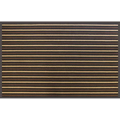 Commercial Doormats by Trafficmaster Brown Stripe 36 In X 60 In Commercial Door