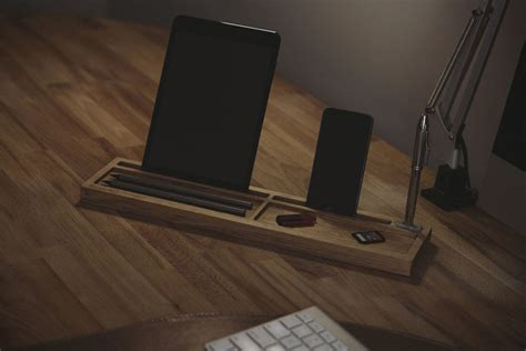 deskpal  piece wood desk tidy shouts