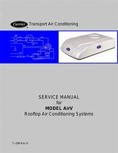 Service Manual For Model Airv Rooftop Air Conditioning