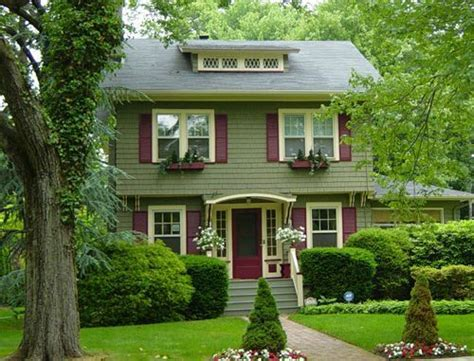 Sage Green House On Pinterest