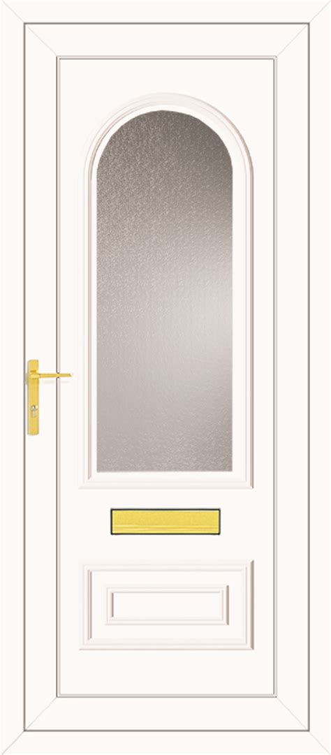 truman  glazed upvc front door