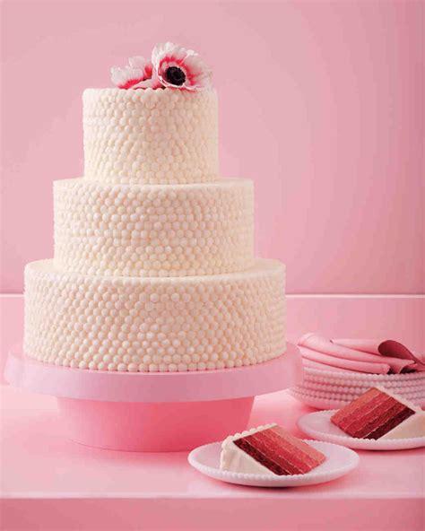 red velvet wedding cakes confections martha stewart