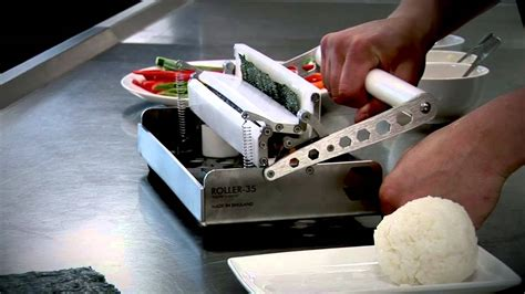 roller cuisine roller 35 sushi rolling machine by sushi machines uk
