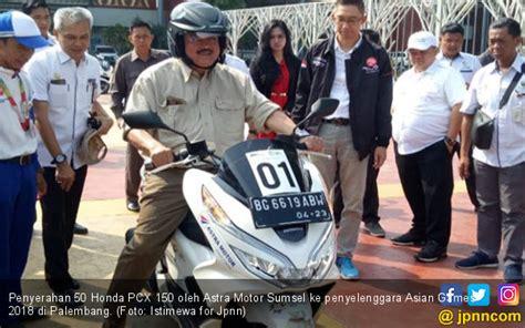 50 Honda Pcx 150 Perkuat Helatan Asian Games Di Palembang