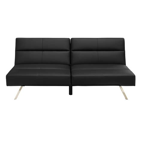 futon black black futon 2062009 the home depot