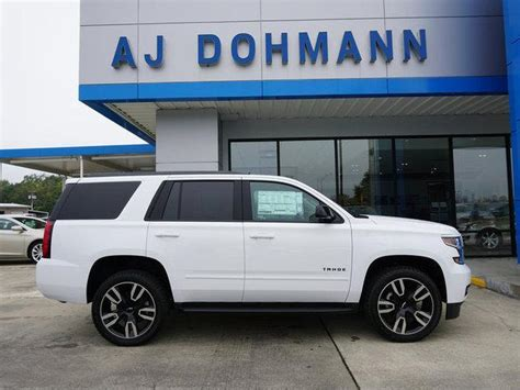 Dohmann Chevrolet by Summit White 2019 Chevrolet Tahoe 2wd Premier New Suv For