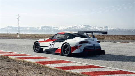 Toyota Gr Supra Racing Concept Brings Back The Iconic Name