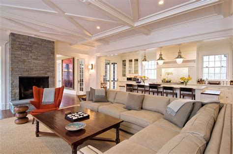 Sand Sectional   Transitional   living room   Morris and