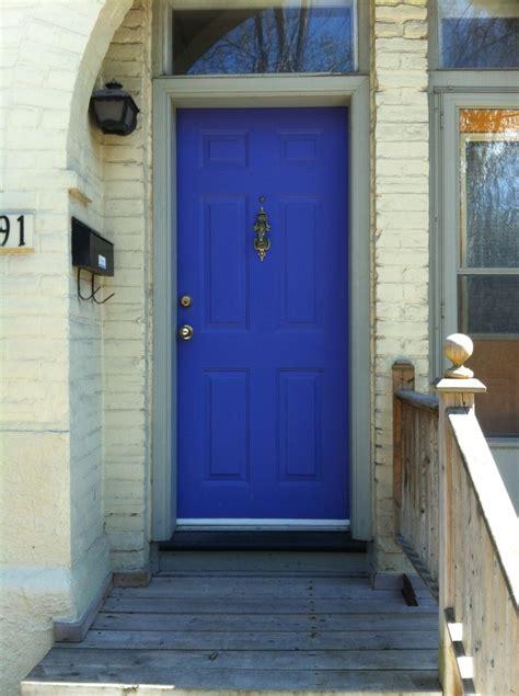 blue front door front doors in toronto killam the true colour expert