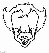 Pennywise Coloring Pages Movies Printable Baby sketch template