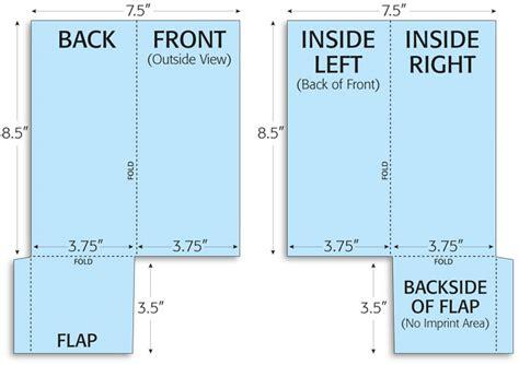 gnf pocket brochure folding print layouts