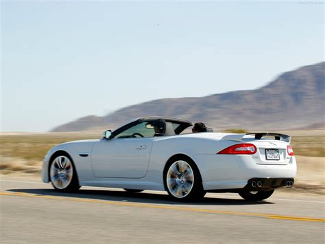 jaguar xkr  convertible picture    rear angle